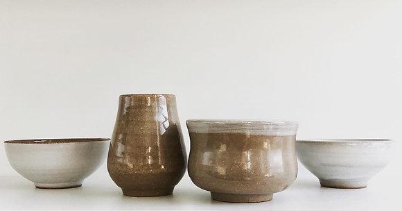 """you know me"" set of four sake cups"