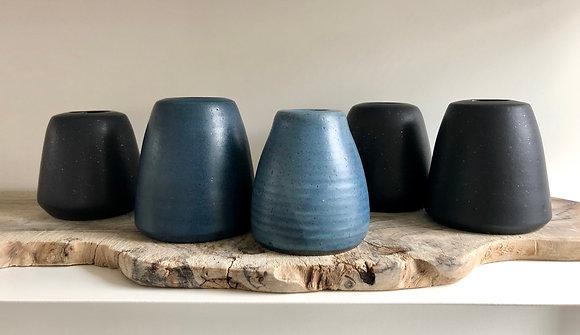 bud vases - set of five