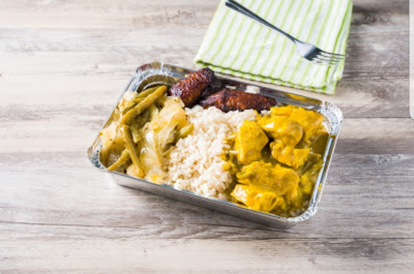 caribbean king authentic jamaican food