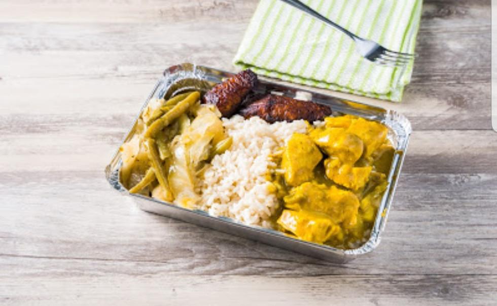 caribbean king authentic jamaican food