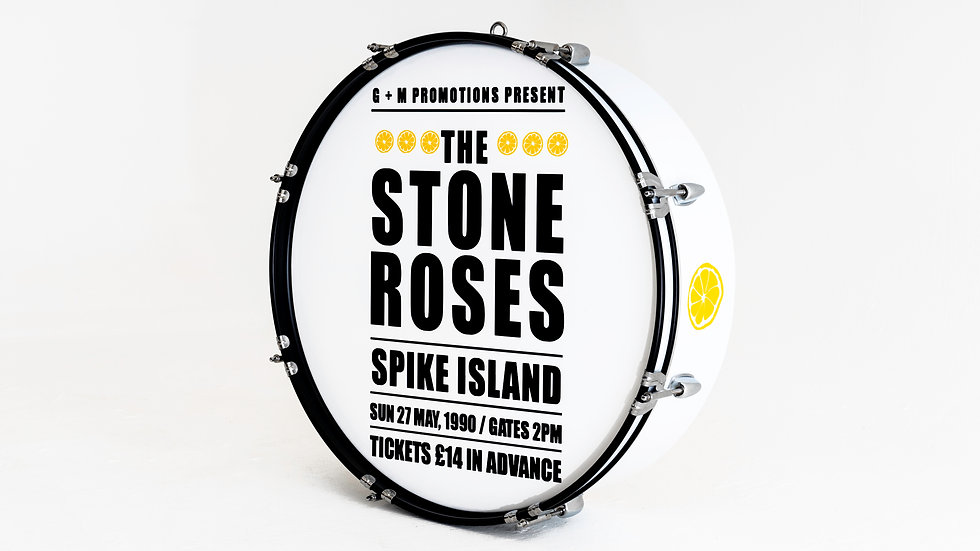 The Stone Roses Spike Island Drum Light