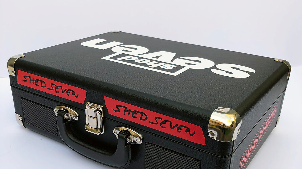 Shed Seven  Portable Record Player