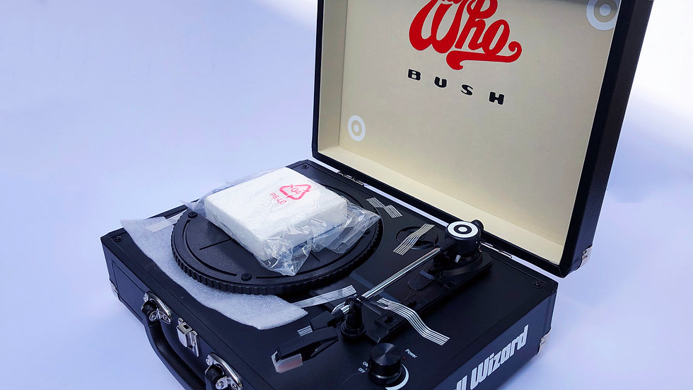 The Who Portable Record Player
