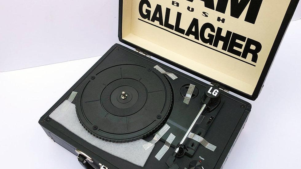 Liam Gallagher Portable Record Player