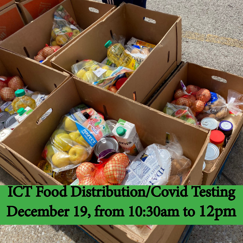 ICT Food Distribution  and COVID Testing