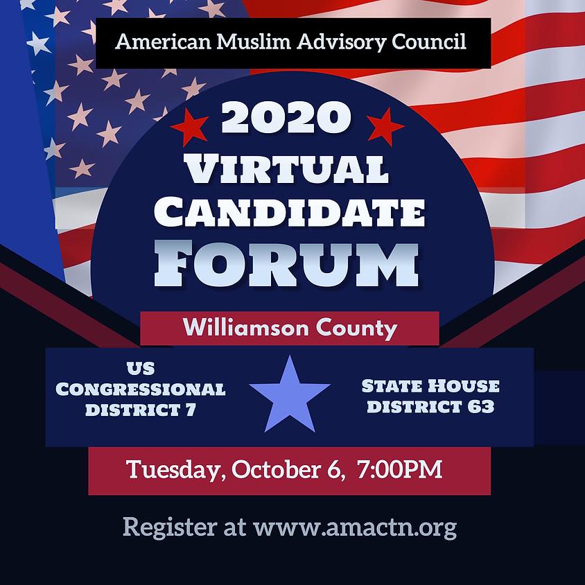 Candidate Forum Williamson Co