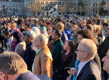 Middle Tennesseans Come Together to Honor the Victims in New Zealand.