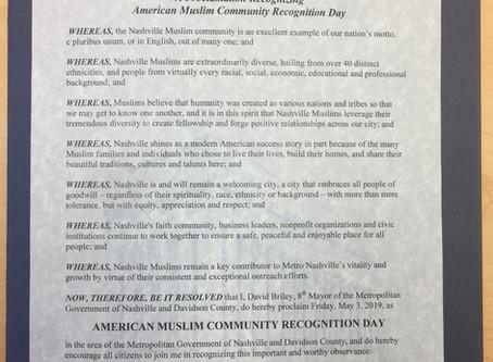 AMAC 2019 Muslim Community Day and Banquet