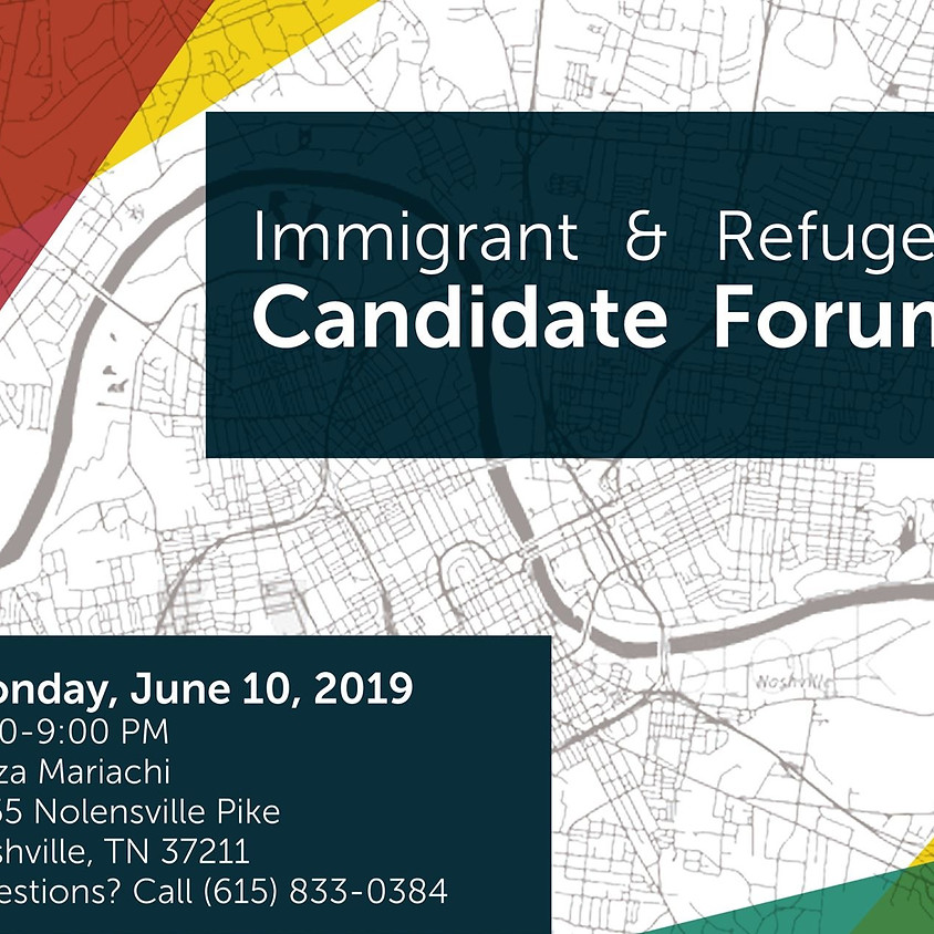Immigrant & Refugee Candidate Forum