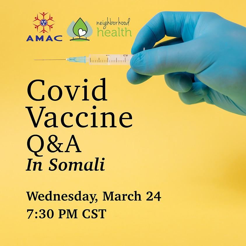 Covid Vaccine Q&A