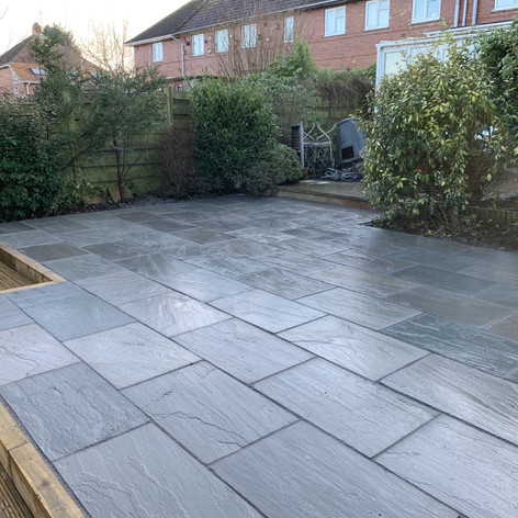 Grey Idian Stone Patio