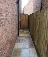 Natural stone Path in York