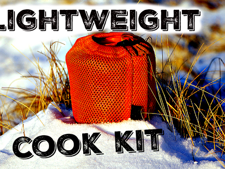 The ultimate lightweight hiking cook kit.