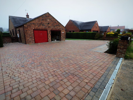 Large Driveway in York