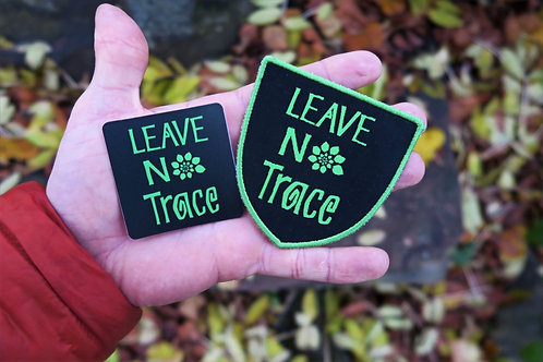 LNT Patch And Outdoor Sticker combo