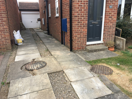 Permeable Driveway in York