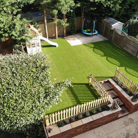 A large area of Artificial Grass