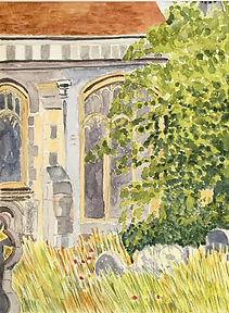 St. Mary's Beddington by Mags Stubberfie