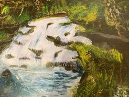 Waterfall, Carshalton.JPG