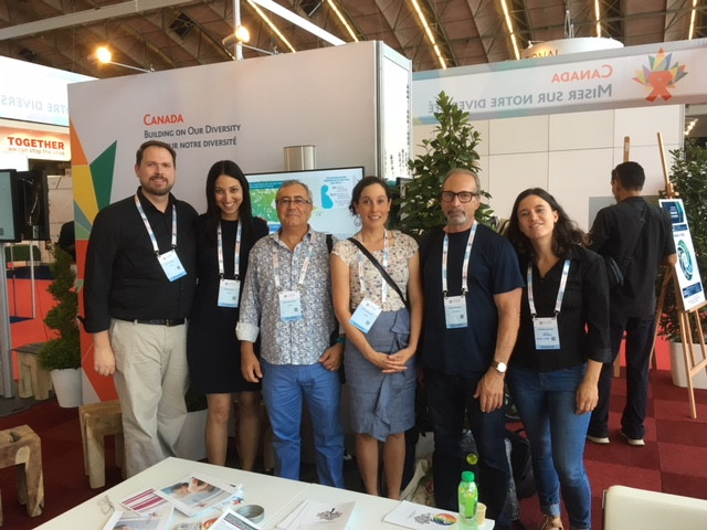 CanCURE at the Canada Pavilion, AIDS 2018, Amsterdam