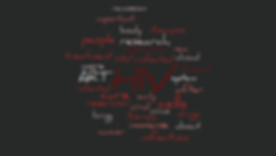 wordle the road to HIV cure.png