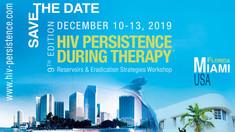 CanCURE à la 9e édition de Persistance du VIH pendant la thérapie, Miami, Floride, 2019