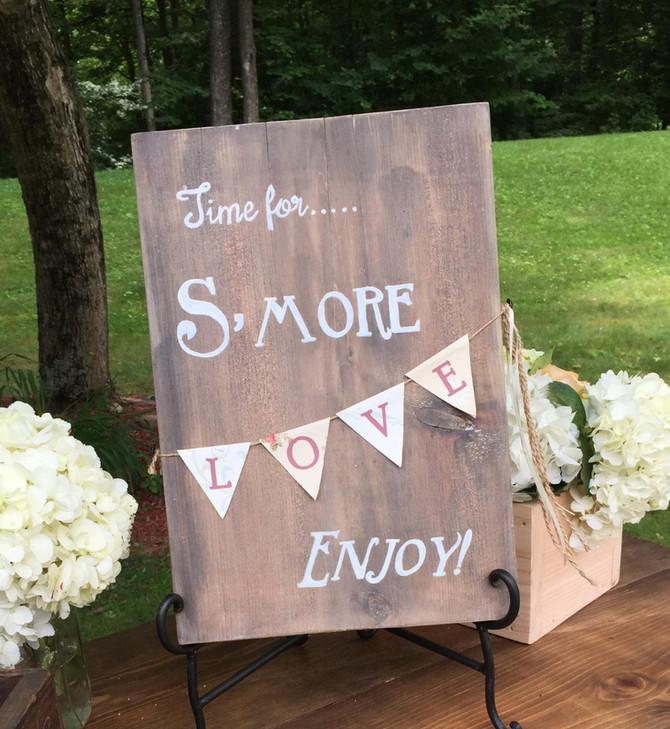 Unique Wedding Signs