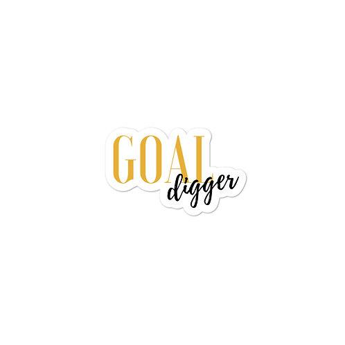 Goal Digger Logo Sticker