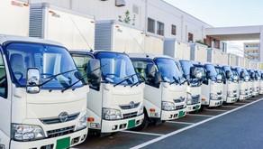 トラック運送事業者の平均月給。