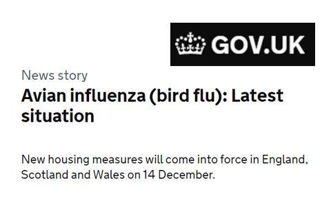 Avian Influenza (AI) Housing Measures