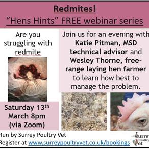 Reducing Red Mites - Hens Hints Webinar