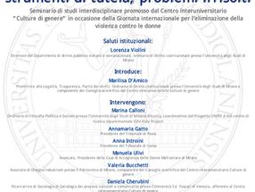 Milano, 26 novembre 2018. Violenza di genere: prevenzione, strumenti di tutela, problemi irrisolti.