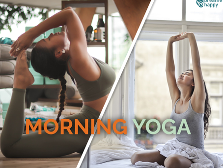 Morning Yoga for Beginners: Yoga Poses to Start your Day Feeling Happy