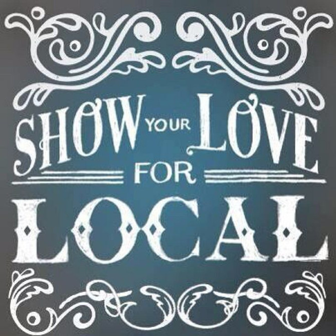 Why shop local you ask?