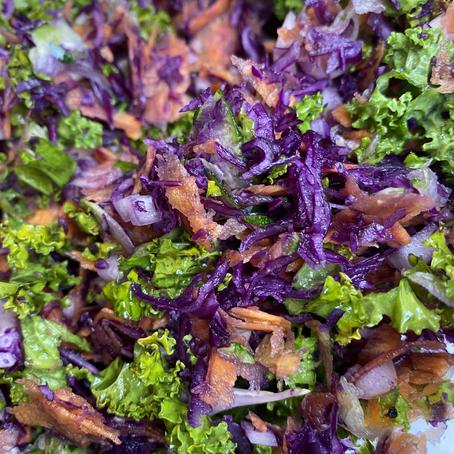 On My Plate: Veggie Fritters & Homemade Granola
