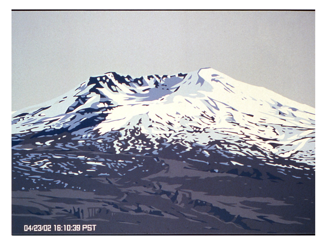 Webcam: Mount Saint Helens, 2002