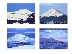 Selected Webcam Paintings c. 2001