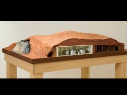 Mars Cave Complex, interior cutaway