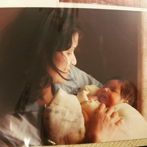 A Mindful Mother's Day Moment: Being A First Time Mom + Missing My Own Mom Today + Everyday