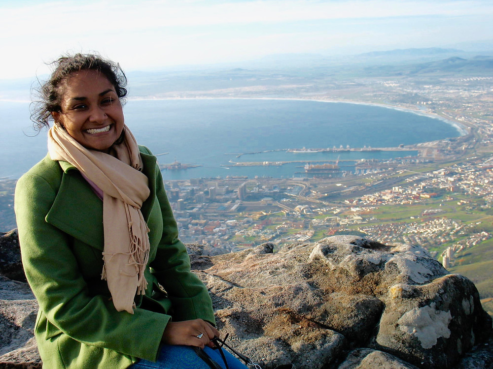 Sophia's First Work Trip in Western Cape, South Africa