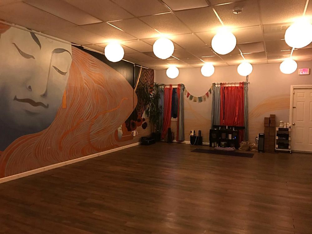 Be Here Now Yoga Studio, Shiva Room