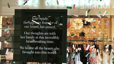 A Tribute to Kate Spade + Anthony Bourdain + How To Cope With The Mental Health Crisis