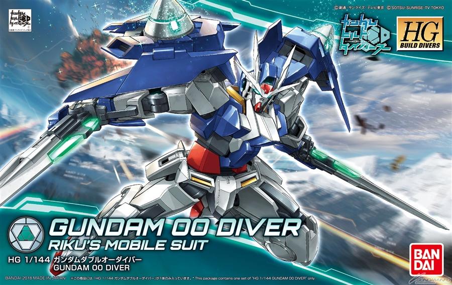 Gundam 00 HG
