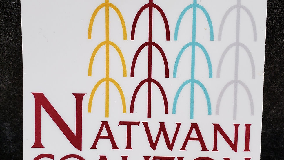 Natwani Coalition Logo Sticker