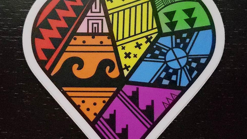 HOYI Proud Ally Sticker