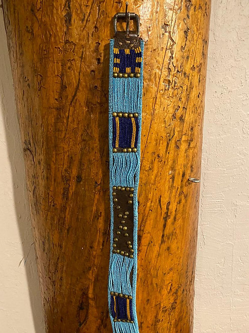 Blackfoot Woman's Beaded Belt