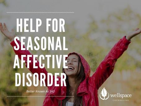 Help for Seasonal Affective Disorder