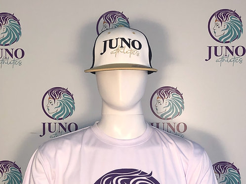 Juno FlexFit Navy/Athletic Gold Hat