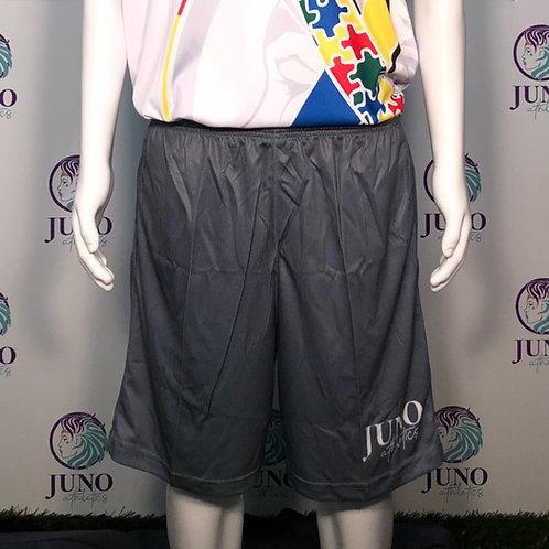 Charcoal Gray Juno Mesh 3-Pocket Shorts