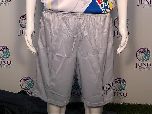 Silver Juno Mesh 3-Pocket Shorts